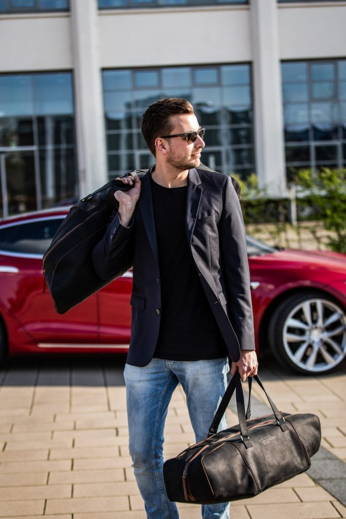 Tesla travel bags